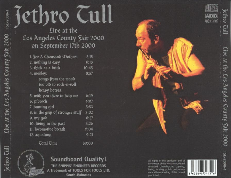 Jethro Tull - Living In The Past-The Witch's Promise
