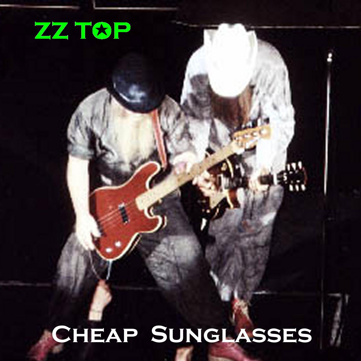 Zz Top Cheap Sunglasses Tabs 70